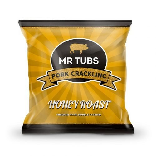 Honey Roast Pork Crackling Bags