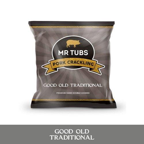 mr tubs good old traditional pork crackling