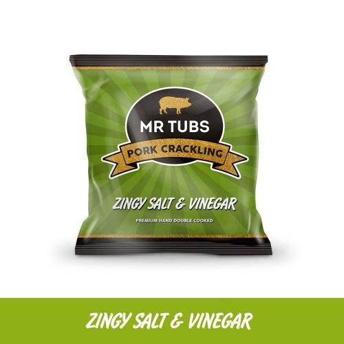 mr tubs zingy salt and vinegar pork crackling