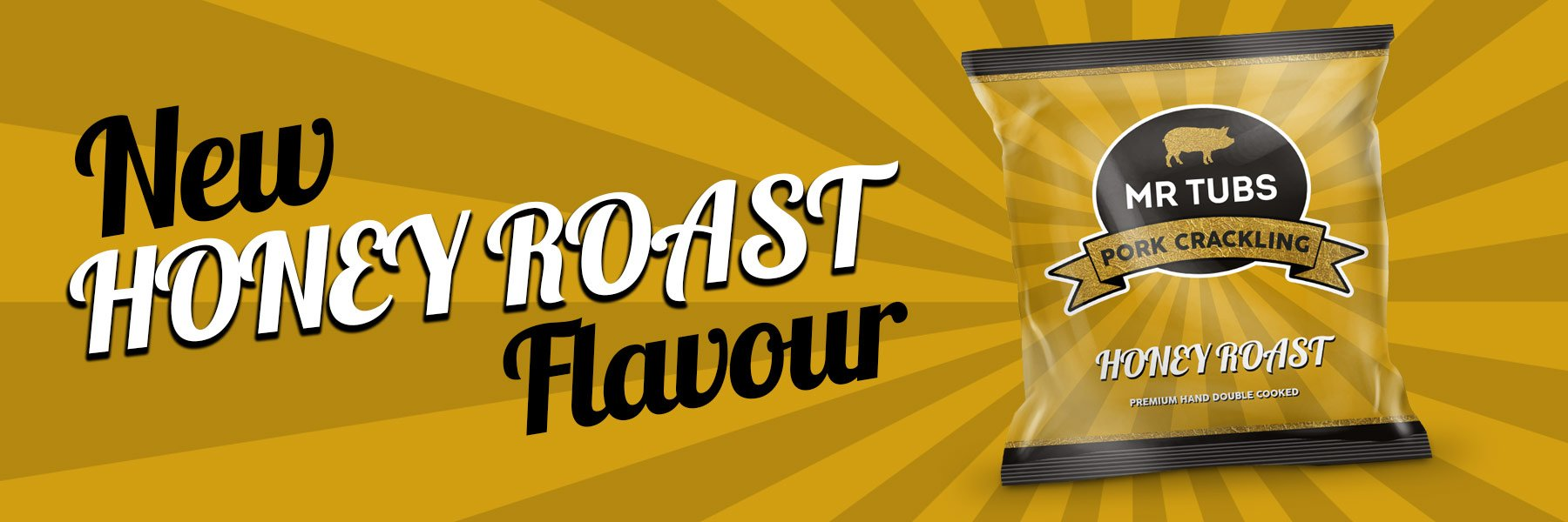 New Honey Roast Pork Scratchings