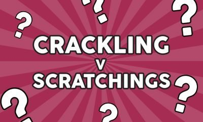 whats the difference pork crackling and pork scratchings