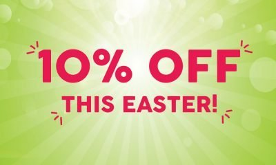 10% off Easter