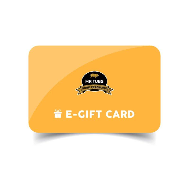 Buy Pork Crackling online with Mr Tubs Gift Card