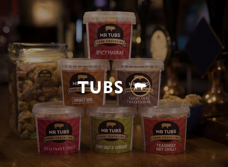 Mr Tubs Pork Crackling Tubs Category