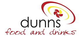 Dunns Food & Drink Logo - Stockist of Mr tubs pork crackling