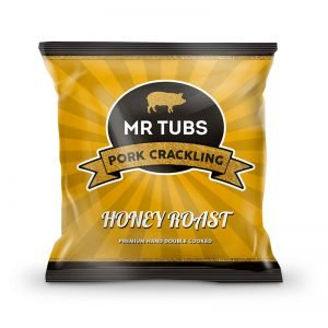 Honey Pork Crackling - Honey Roast Flavoured Pork Scratchings