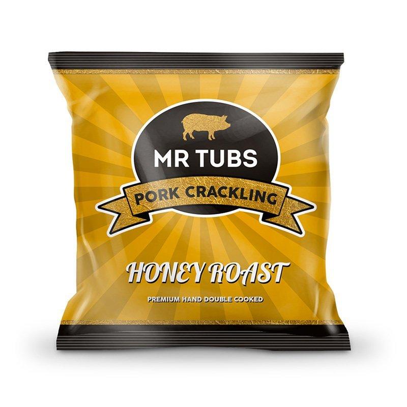 Honey Pork Crackling - Honey Roast Flavoured Pork Scratchings