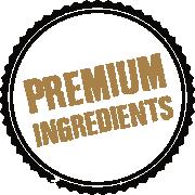Pork Crackling Premium Ingrediens text