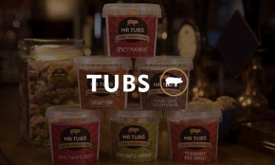 Pork Crackling Tubs Flavours - Mr tubs