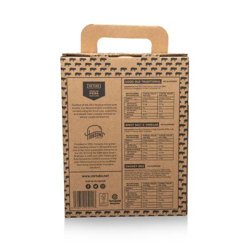 Beer Gift Set with Pork Crackling - Mr Tubs Pork Crackling Gifts Range