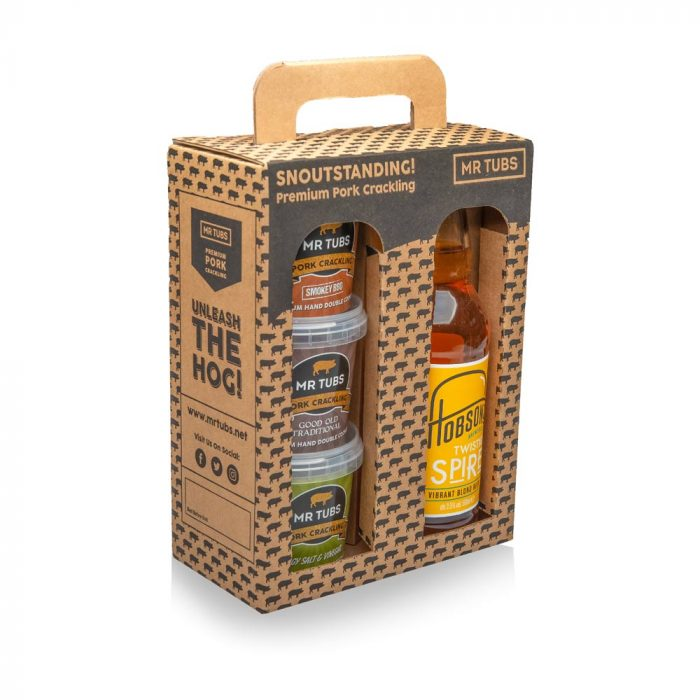 Beer and Pork Scratchings Gift Sets - Mr Tubs Pork Crackling Gifts