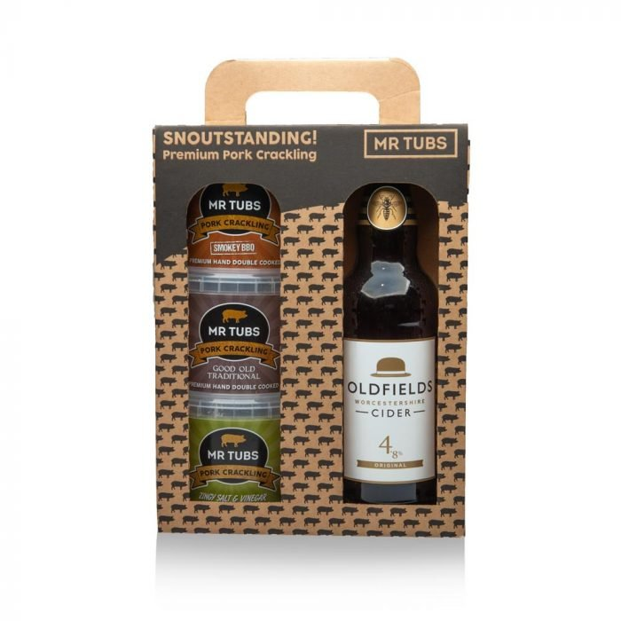 Cider Gift Set - Mr Tubs Pork Crackling Gifts Range