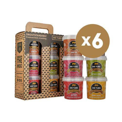 mr tubs pork crackling gift set - case of 6